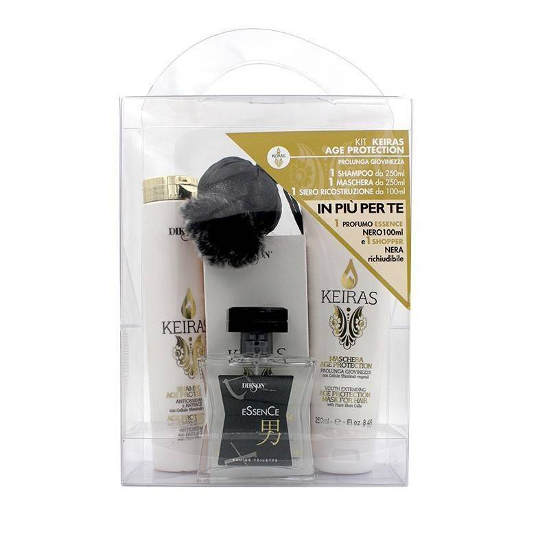 Dikson Keiras Kit Age Protection (shampoo/ Mask/serum/essence