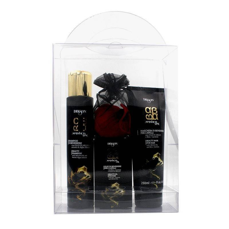 Dikson Argabeta Kit (shampoo/ Mask/oil/towel)
