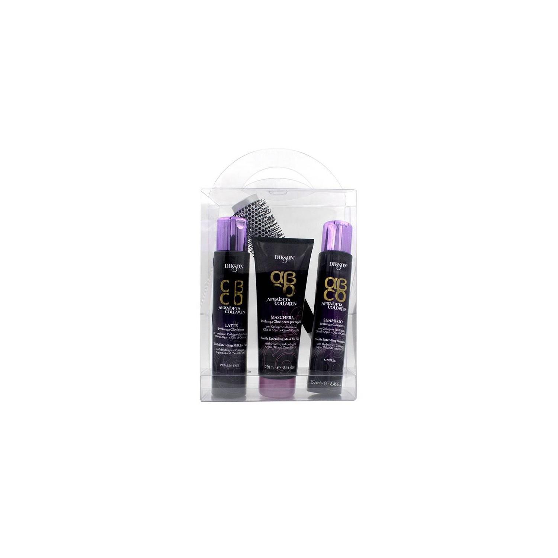 Dikson Argabeta Collagen Kit (shampoo/ Mask/latte/brush)