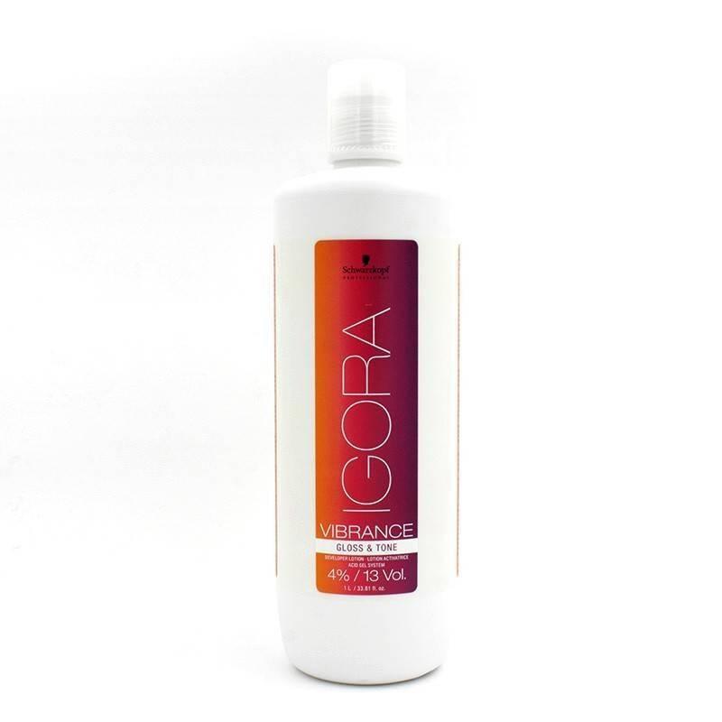 Schwarzkopf Igora Vibrance Activating Lotion Gloss&Tone 13vol (4%) 1000 Ml