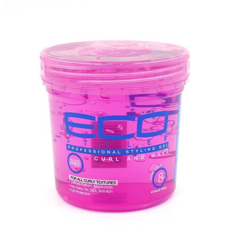 Eco Styler Styling Gel Curl & Wave Pink 473 Ml