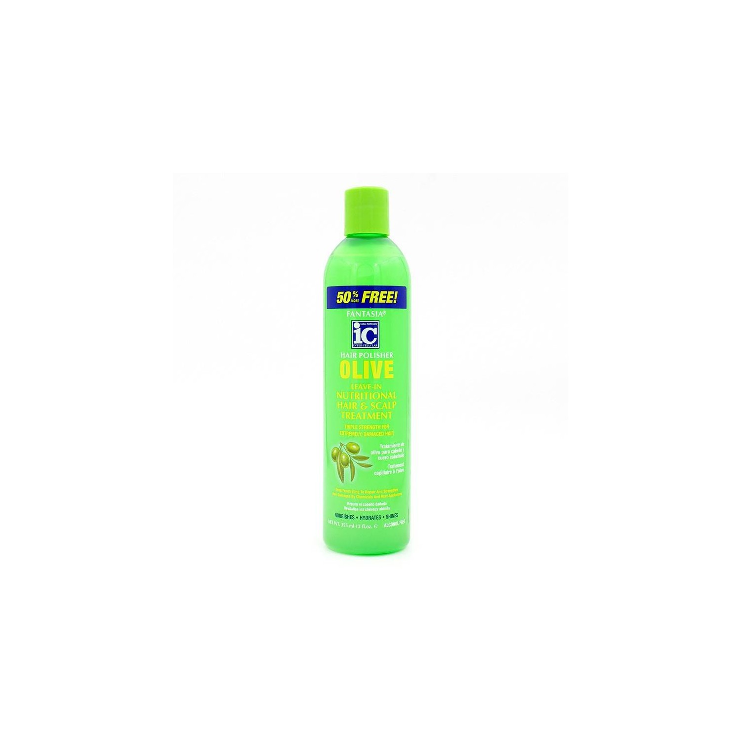 Fantasia Ic Olive Leave In Nutritional Treatment 355 Ml
