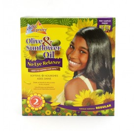 Sofn Free Pretty Olive & Sunflower Oil Relaxer Kit (02 Aplic)