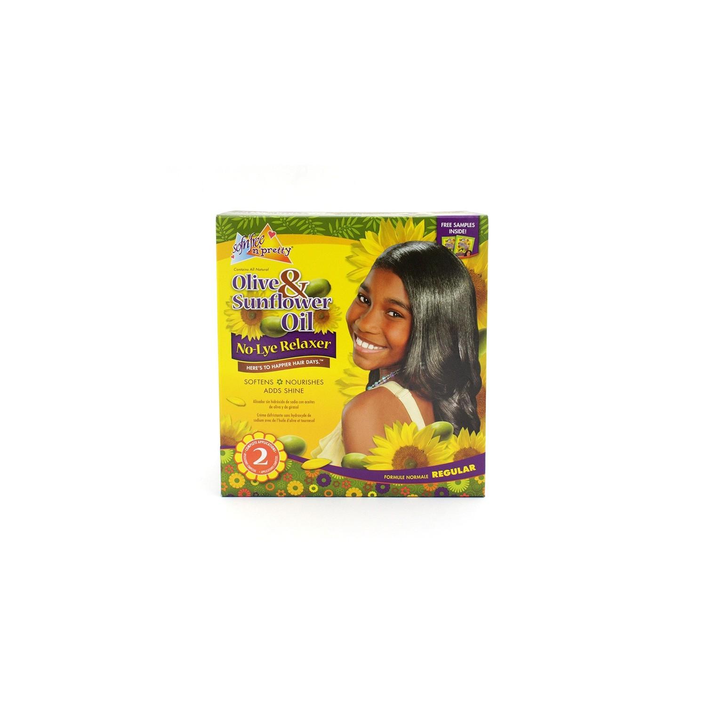 Sofn Free Pretty Olive & Sunflower Oil Relaxer Kit (02 Aplic)