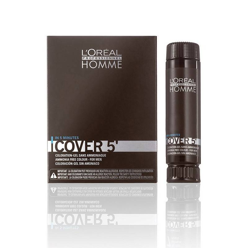 Loreal Homme Cover 5 N?5 3x50 Ml