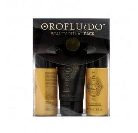 Revlon Oro Fluido Beauty Ritual Pack (kit De Voyage)