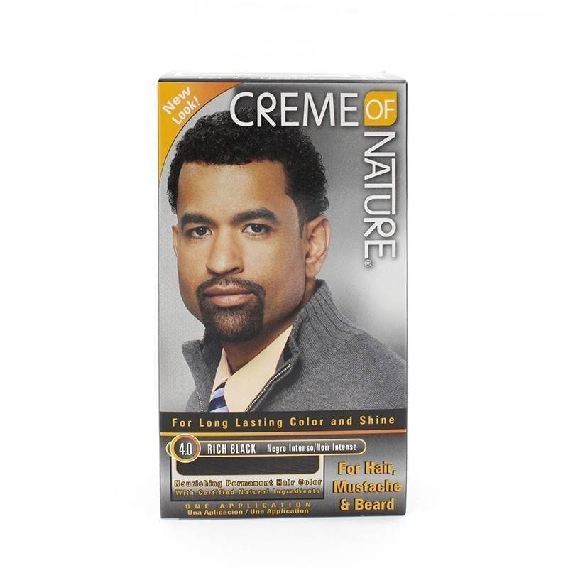 Creme Of Nature Mens Couleur Rich Noir 4.0