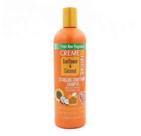 Creme Of Nature Champú Detangling Acondicionador 450 Ml