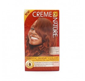 Creme Of Nature Argan Couleur Bronze Copper 7.64