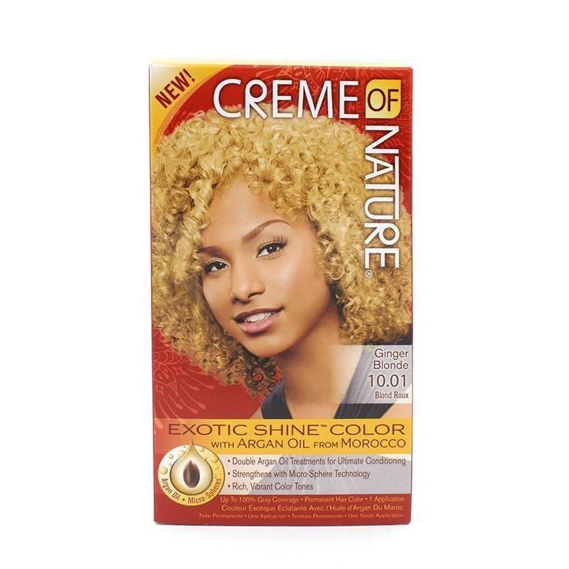 Creme Of Nature Argan Color Ginger Blonde 10.01