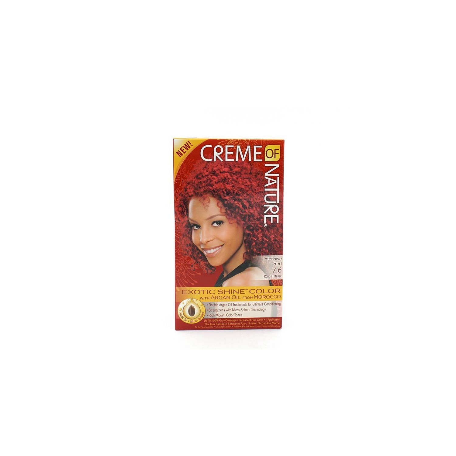 Cream Of Nature Argan Color Intensive Red 7.6