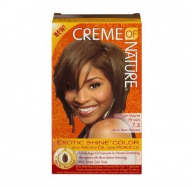 Creme Of Nature Argan Color Medium Warn Brown 7.3