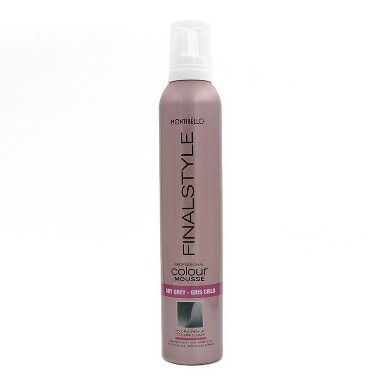 Montibello Mousse Finalstyle Ciel (sky Grey)320 Ml