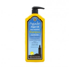 Agadir Argan Oil Champú Voluminizador Diario, 1 Litro