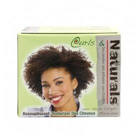 Biocare Curls & Naturals Texturizer Hair Softner Kit