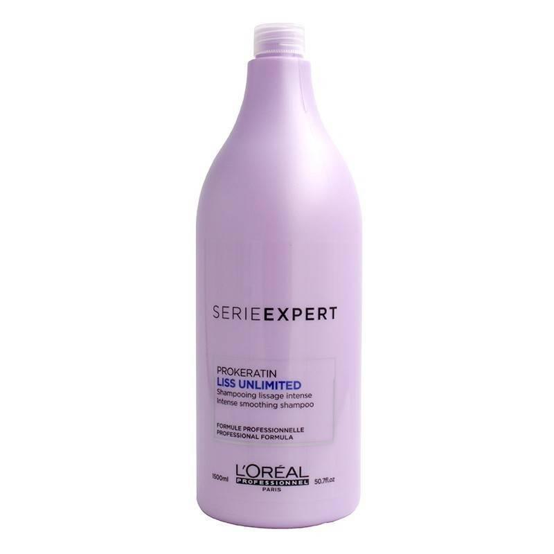 Loreal Expert Liss Unlimited Shampoo 1500 Ml