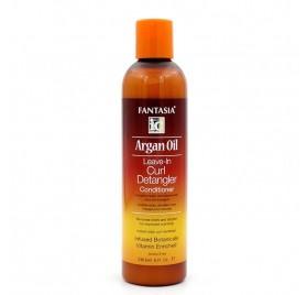 Fantasia Ic Argan Oil Leave In Curl Detangler Conditioner 236 Ml