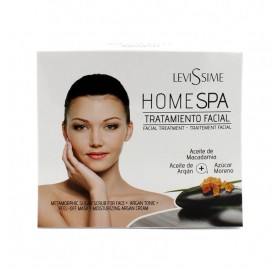 Levissime Pack Home Spa Tratamiento Facial Argan
