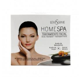 Levissime Pacote Home Spa Tratamento Facial Argan