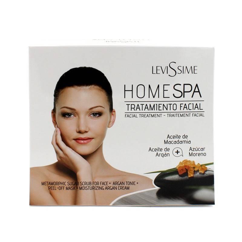 Levissime Pack Home Spa Treatment Face Argan