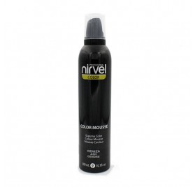 NIRVEL COLOR MOUSSE CENIZA 300 ml