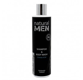 Natural Men Bs Champú & Body Wash 250 Ml
