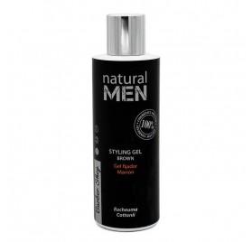 Natural Men Bs Styling Gel Brown/brown 200 Ml