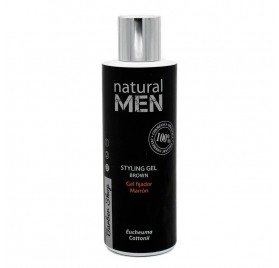 Natural Men Bs Styling Gel Brown/marron 200 Ml