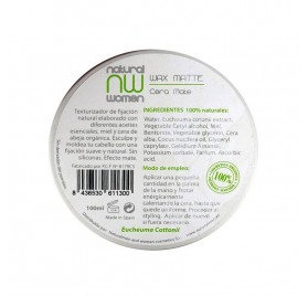 NATURAL WOMEN WAX/WAX MATTE 100 ml