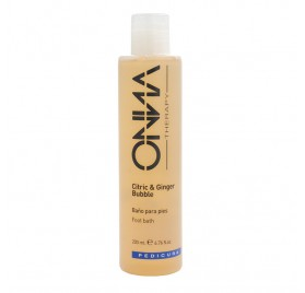 Onna Baño Pies Citric Y Ginger Bubble 200 Ml