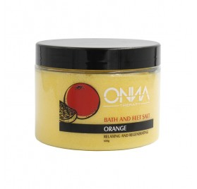 Onna Bath And Feet Salt Orange 600 G