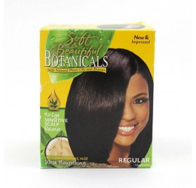Soft & Beautiful Botanicals Relaxer Kit Reg