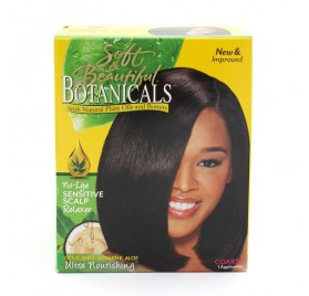 Soft & Beautiful Botanicals Relaxer Kit Coarse
