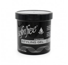 Sofn Free Styling Gel Black 425 Gr