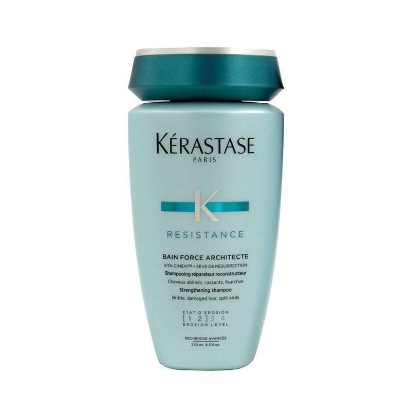 Kerastase Resistance Shampoo Bain Force Architecte 1-2 250 Ml