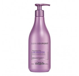 Loreal Expert Liss Unlimited Shampoo 500 Ml