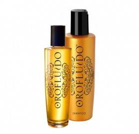 Revlon Oro Fluid Pacote (elix + Xampu)
