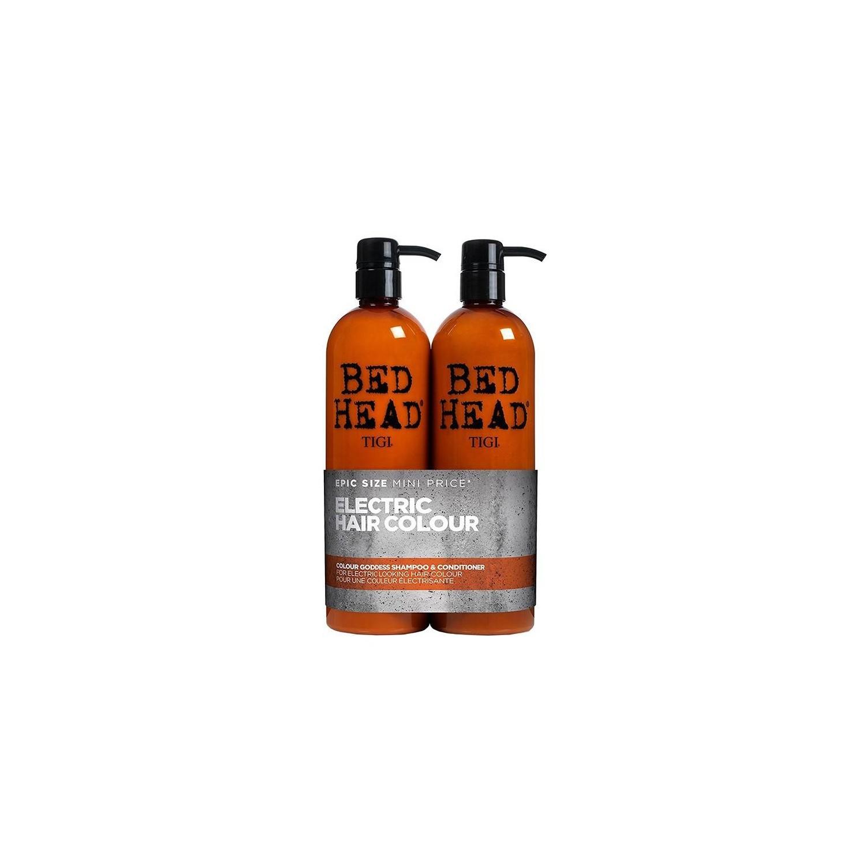 Tigibedheadpackcolourgoddes750 Ml (shampoo + Conditioner)