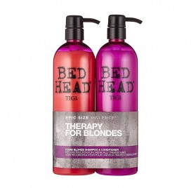 Tigi bedhead pack dumb blonde 750 Ml (champú+acondicionador)