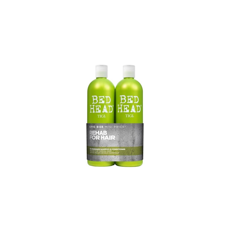 Tigibedheadpackre-energize750 Ml(shampoo + Conditioner)