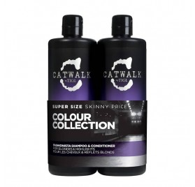 Tigi catwalk pack fashion blond 750 Ml (shampoo + Conditioner)