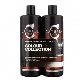 Tigi catwalk pack fashion brunette 750 Ml (shampoo + Conditioner)