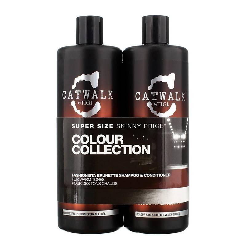 Tigicatwalkpackfashionbrunette750 Ml (shampoo + Conditioner)
