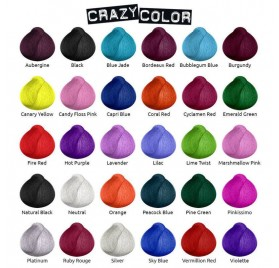 Crazy Color 57 Coral Red 100 Ml