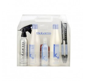Salerm Keratin Shot Kit Maintenance (3products+comb+spray)