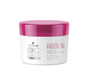 SCHWARZKOPF BONACURE MASCARILLA COLOR FREEZE 200 ml (4.5PH)