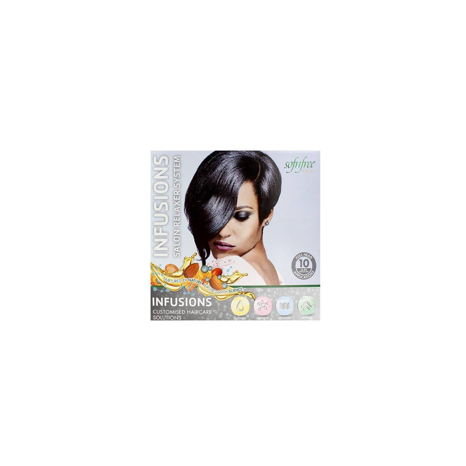 Sofn Free Salon Infusions Relaxer Kit