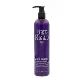 Tigi Bed Head Dumb Blonde Champú Con Tonos Morados 400 Ml