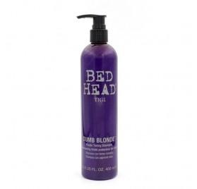 Tigi Bed Head Dumb Blonde Shampoo Con Tonos Viondas 400 Ml