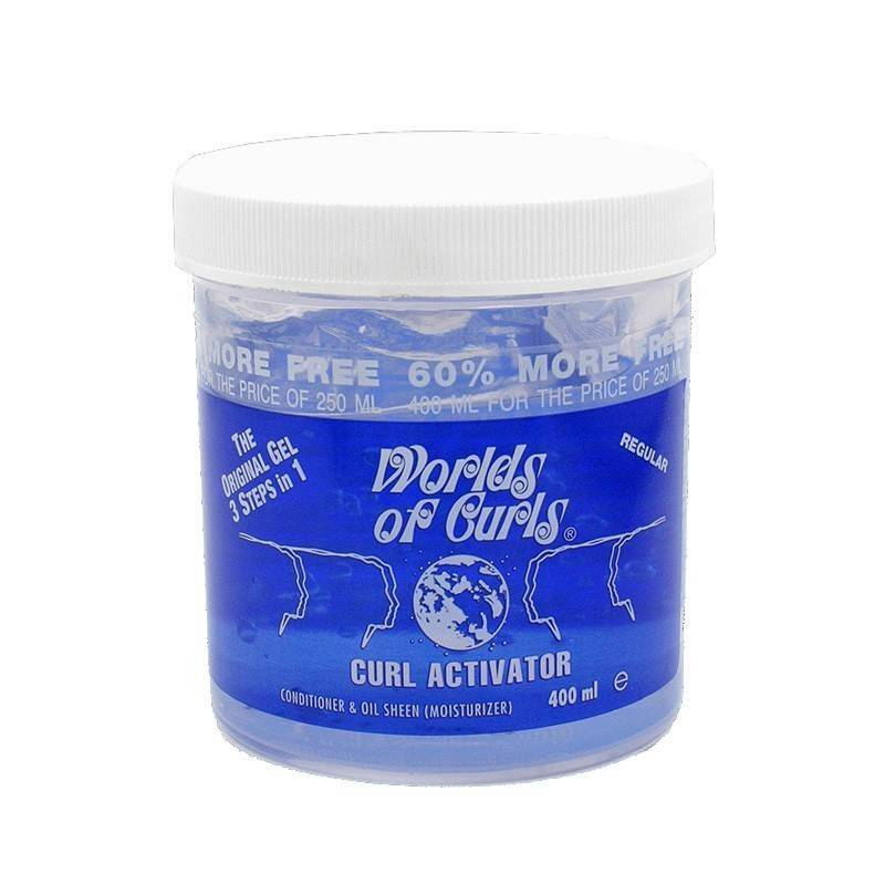 Worlds Of Curls Gel Curl Activator (regular) 400 Ml